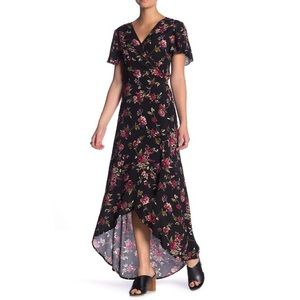 NWT Band of Gypsies Lianna Floral Wrap Dress New